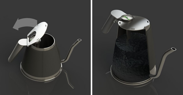 Changing capacity of the kettle