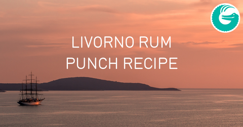 Coffee Gator Livorno rum punch recipe