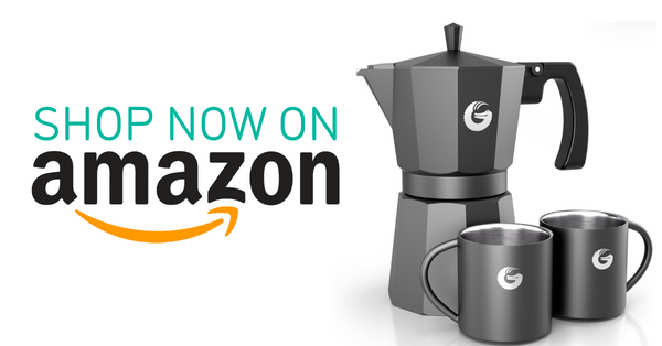 Coffee Gator Stovetop Espresso Brewer on Amazon