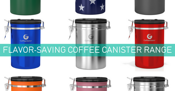 Coffee canister collection