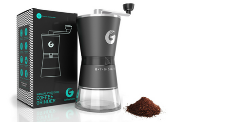 Coffee Gator manual precision burr grinder