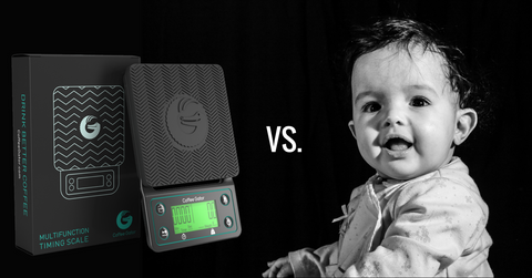 Coffee Gator multifunction scales vs baby