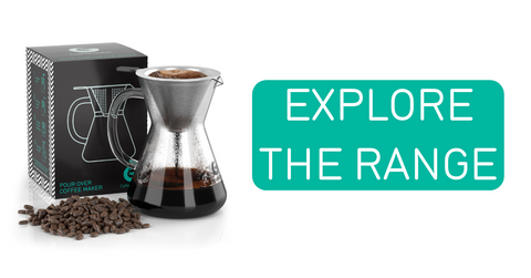 Shop the Coffee Gator pour over range