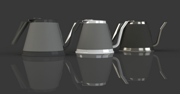 Early rendered of the True Brew kettle concept