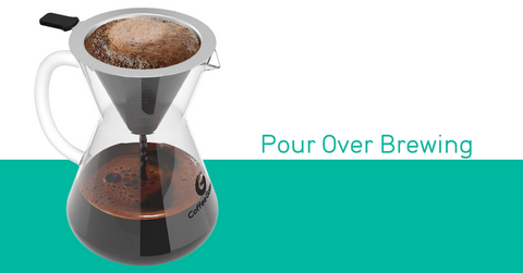 Coffee Gator Guides: pour over coffee brewing