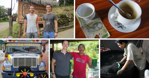 Coffee adventures in South America