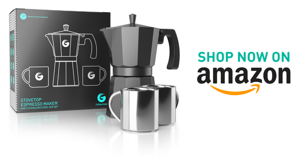 Shop Stovetop moka espresso brewer on Amazon