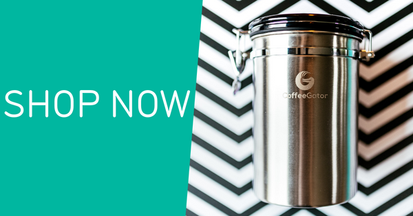 Shop the Coffee Gator canister range