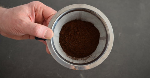 Guide to making perfect pour over coffee - grinding coffee