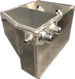 Fabtech - FTG Series - EVO CP 4-6 Alloy Oil Catch Can with Filter and Block Breather