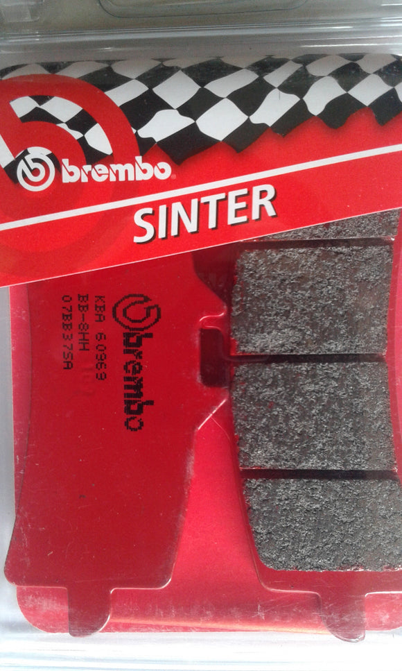 Brembo Front Brake Pad For Suzuki Hayabusa GSXR 1300 (After 2013) (Red Call) 07BB37.SA