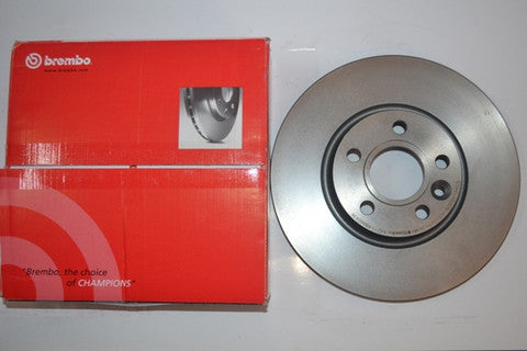 09.9167.11- Brembo Front Brake Disc for  Skoda Laura 1.9TDI Type 1 and Volkswagen Jetta 1.9TDI Type 1 Pair