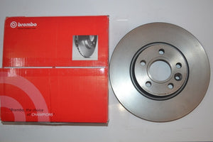 08.A202.10 - Brembo Front Brake Disc for Skoda Superb Type 2 and Volkswagen Passat  Type 2 Pair