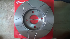 08.7165.75 - Skoda Octavia RS 1.8 Rear Slotted Disc Pair
