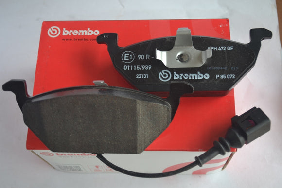 P85072 - Brembo Front Brake Pad Skoda Laura 1.9 (old) / Volkswagen Jetta 1.9 (old) with sensor
