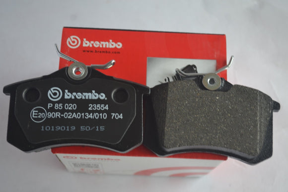 P85020 - Brembo Skoda Rear Brake Pad Laura 1.9 TDI (old)