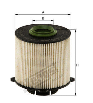 E640KPD185 - CHEVROLET CRUZE DIESEL FILTER from HENGST GERMANY