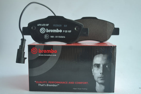 P23107 - Brembo Front Brake pad for Fiat 500