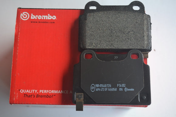 P54052 - Brembo Rear Brake Pad for Mitsubishi Evolution