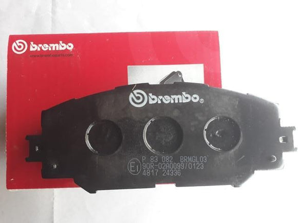 P83082 - Brembo Front  Brake for Corolla New Altis -Type 2