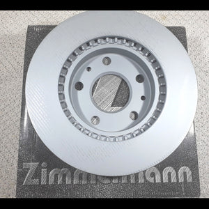 Renault Duster / Nissan Terrano Front Brake Disc / Rotor (Pre 2015) by Zimmermann, Germany