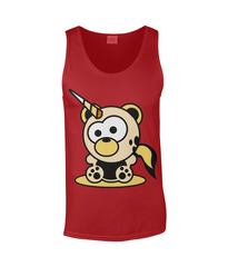 Unicorn Bear Tank Top