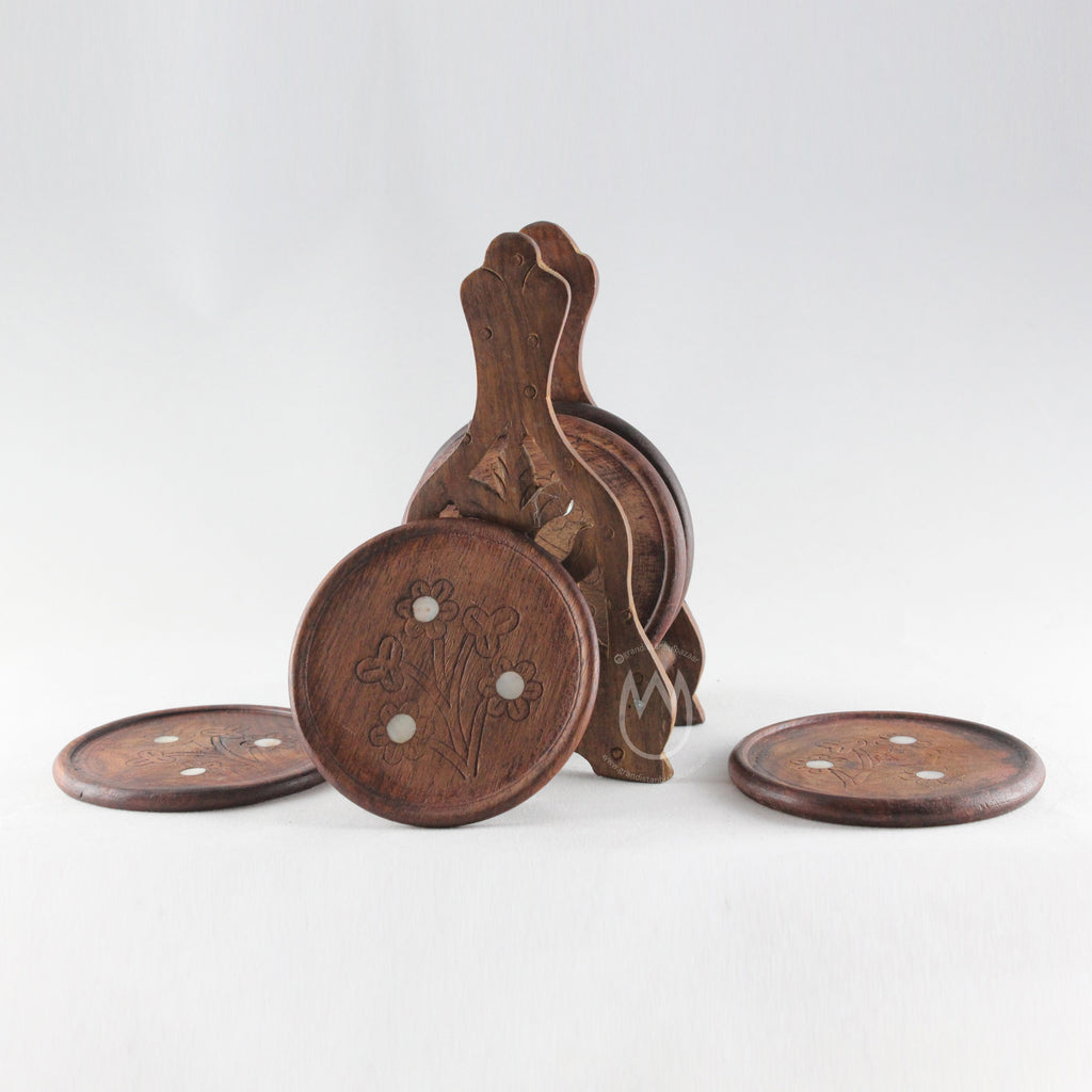 Authentic Wooden Coasters - Grand Istanbul Bazaar