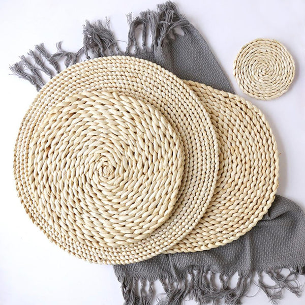 Natural Round Table Mats - Grand Istanbul Bazaar