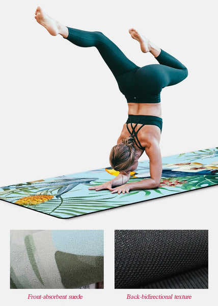 Exercise Mat Tote Natural Rubber Suede Pilates Yoga Mats - Grand Istanbul Bazaar