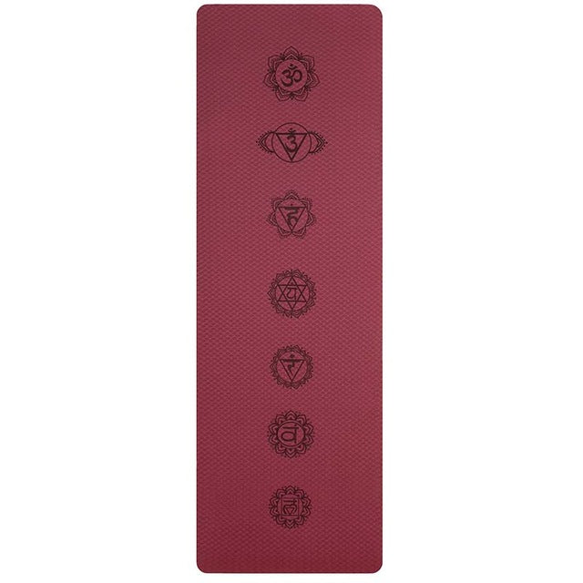 Yoga Mats For Fitness Pilates Gym Exercise Sport - Grand Istanbul Bazaar
