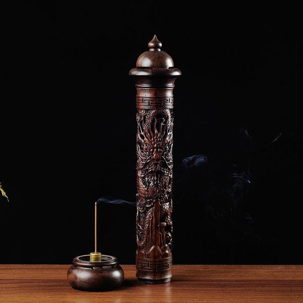 Wooden Handmade Incense Holder - Grand Istanbul Bazaar