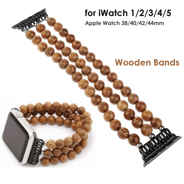 iWatch Wooden Watch Band - Grand Istanbul Bazaar