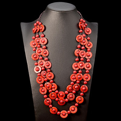 Bohemia Ethnic Necklace - Grand Istanbul Bazaar