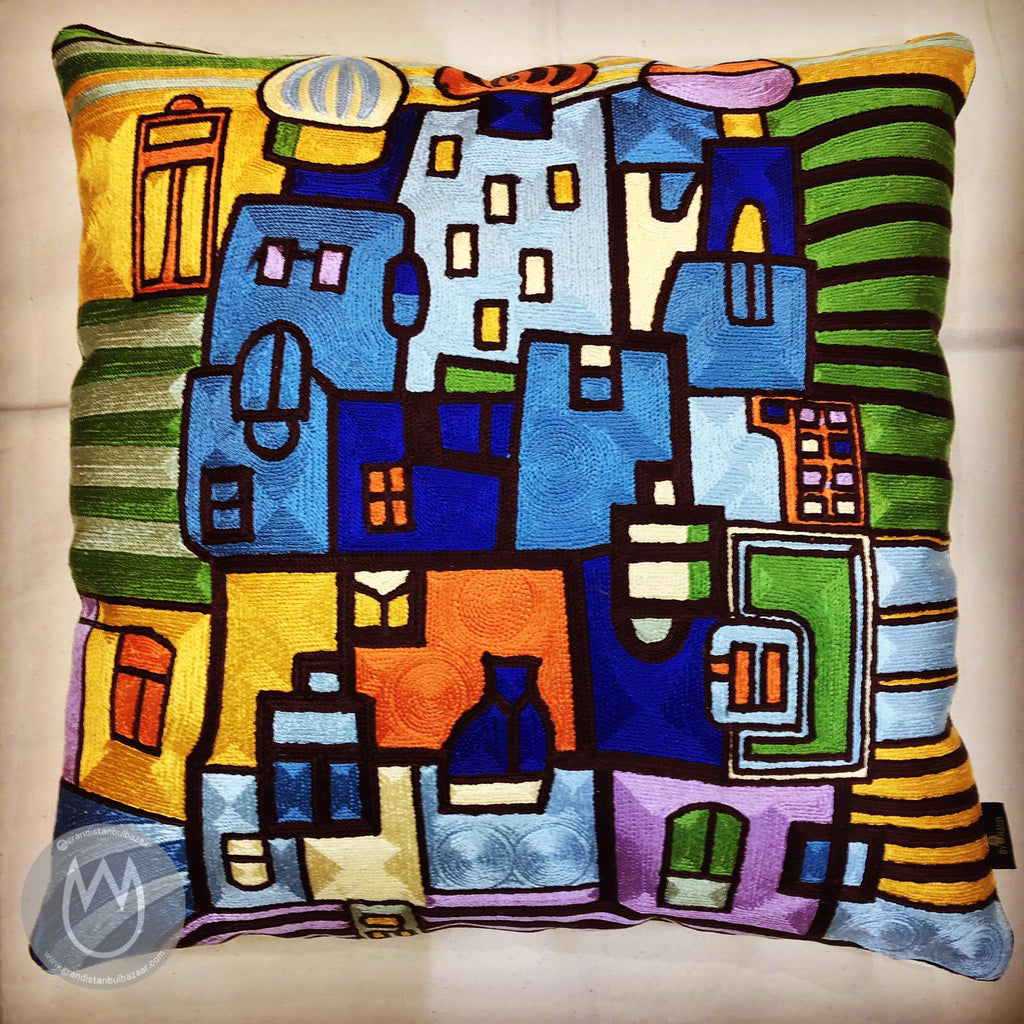 Silk PillowCase 💚 Almohada de Seda 20 - Grand Istanbul Bazaar