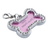 Diamond Crystal Pet I.D. Collar Tag