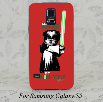 'May the Force be Shih Tzu' Samsung Phone Cover