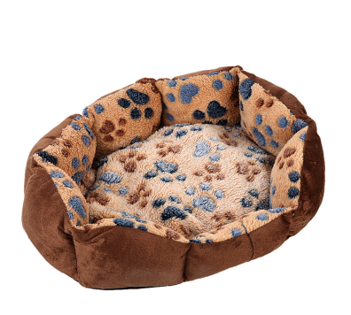 Soft Fleece Dog Bed for Small Dogs