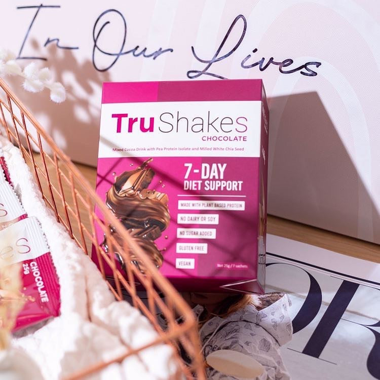 TruShakes Meal Replacement Chocolate Drink (3 months supply)