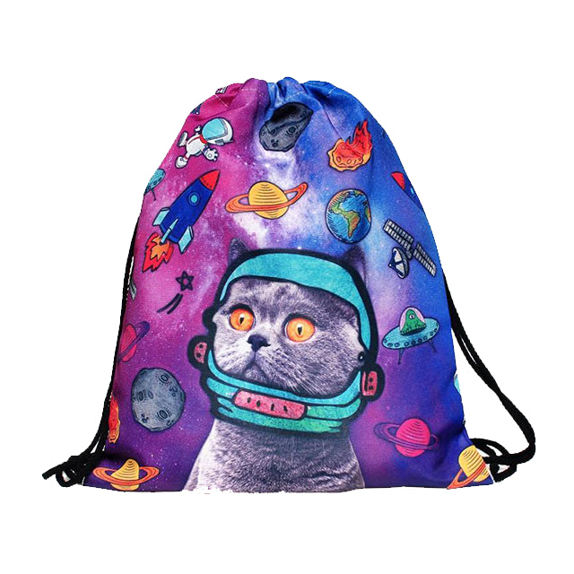 Lost in Space Gym Bag