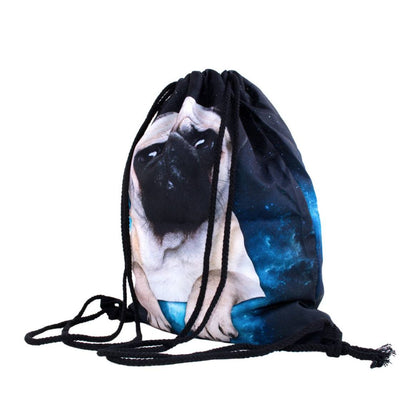 Galactic Pug Gym Bag