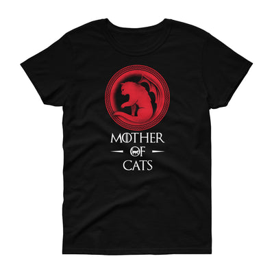 Mother of Cats Naisten T-Paita