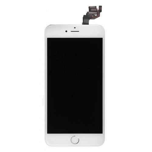 For Apple iPhone 6 Plus - LCD Digitizer Touch Screen Assembly - With Spare Parts - White - OEM