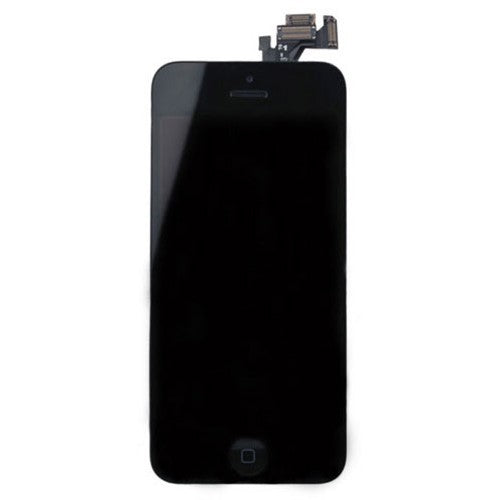 For Apple iPhone 5 5G - LCD Digitizer Touch Screen Assembly - With Spare Parts - Black - OEM