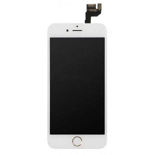 For Apple iPhone 6S - LCD Digitizer Touch Screen Complete Assembly - With Spare Parts - White - OEM