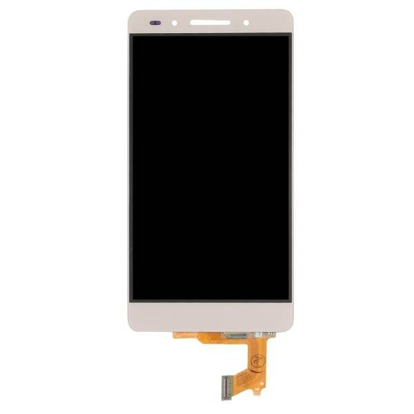 Huawei Honor 7 - LCD Digitizer Touch Screen Assembly - Gold - OEM