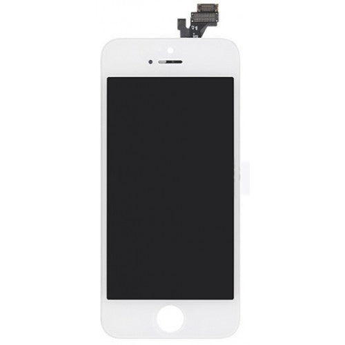 For Apple iPhone 5 5G - LCD Digitizer Touch Screen Assembly - Without Spare Parts - White - OEM