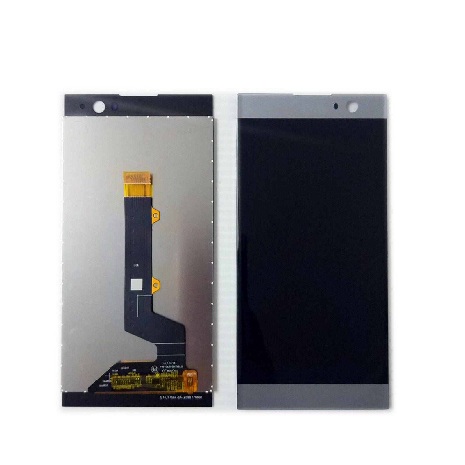 Sony Xperia XA2 - LCD Digitizer Touch Screen Assembly - Silver - OEM