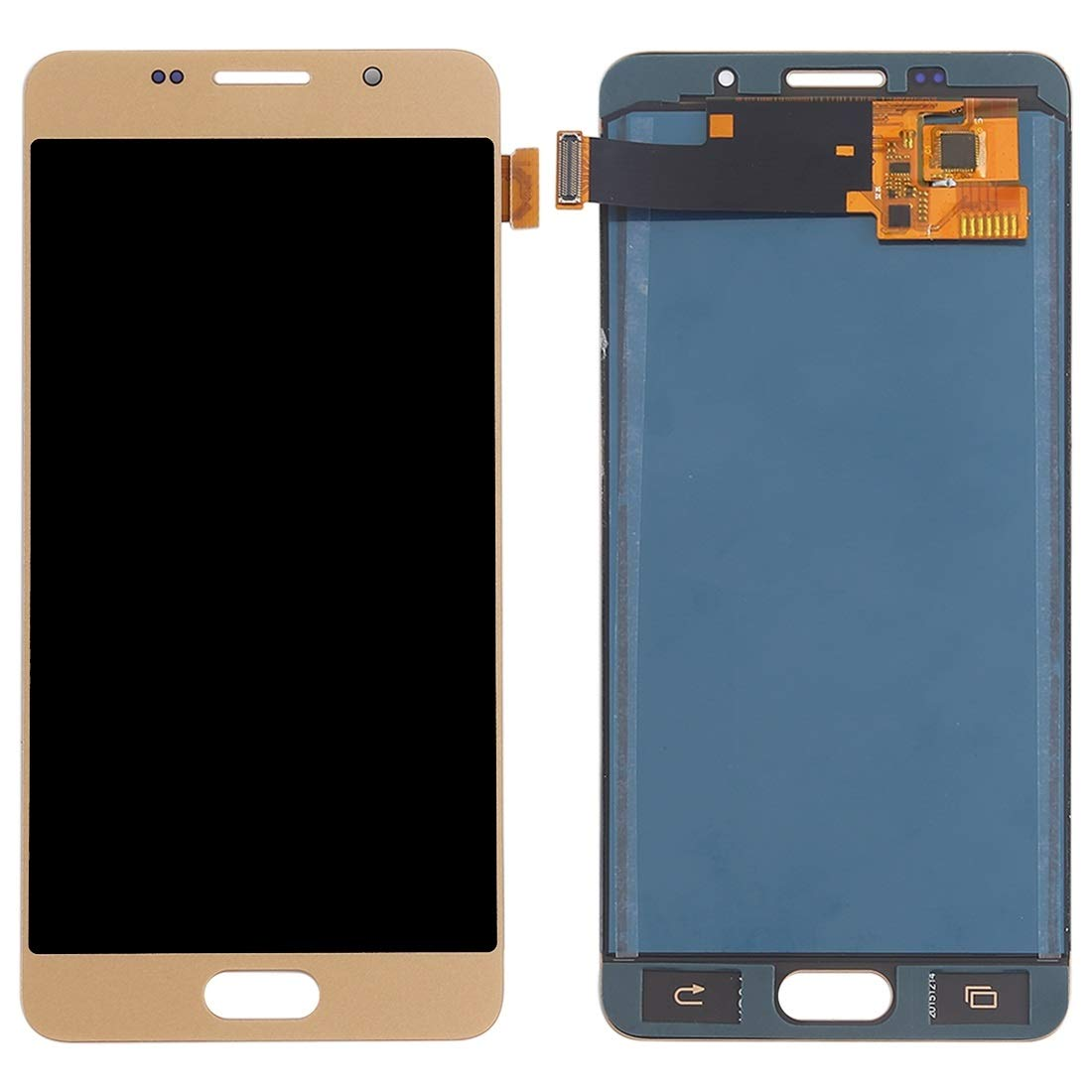 For Samsung Galaxy A5 A510 2016 - LCD Digitizer Touch Screen Complete Assembly - Gold
