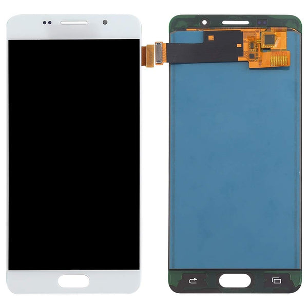 For Samsung Galaxy A5 A510 2016 - LCD Digitizer Touch Screen Complete Assembly - White