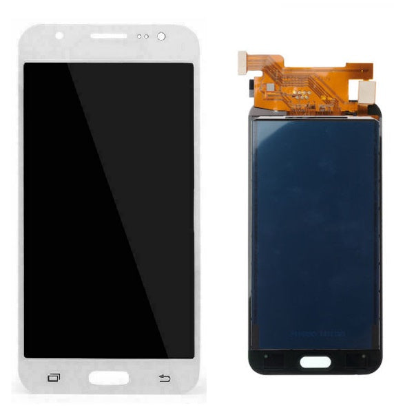 For Samsung Galaxy J5 J500 2015 - LCD Digitizer Touch Screen Complete Assembly - White